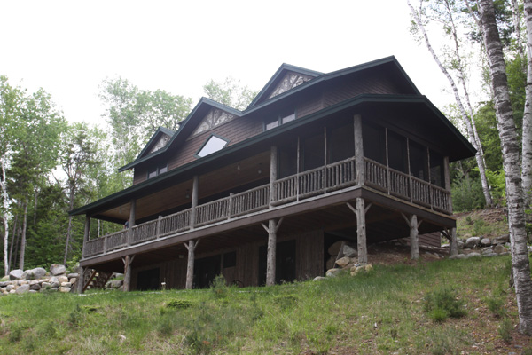 Camp Eagle View Upper Saranac Lake Lakefront Rental