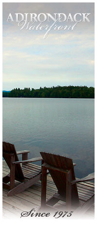 View of Upper Saranac from the Dock